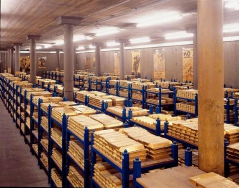 5 billion in gold