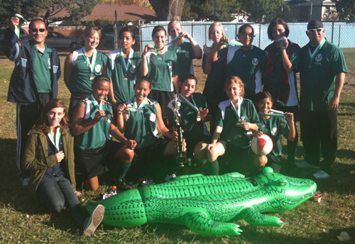 MYSA Gators team